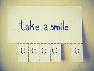 Smile, Inspiring Typography Image