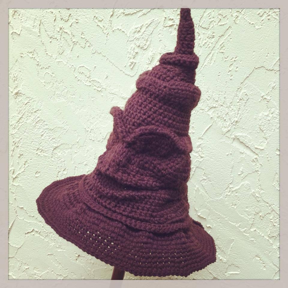 Crochet Pattern Sorting Hat ~ Pakbit for . 06f114180ac